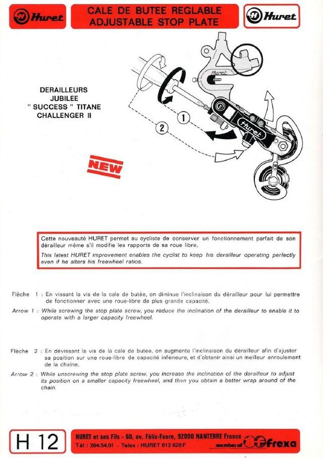 Motobécane C4 1977 - Page 4 Huret_11