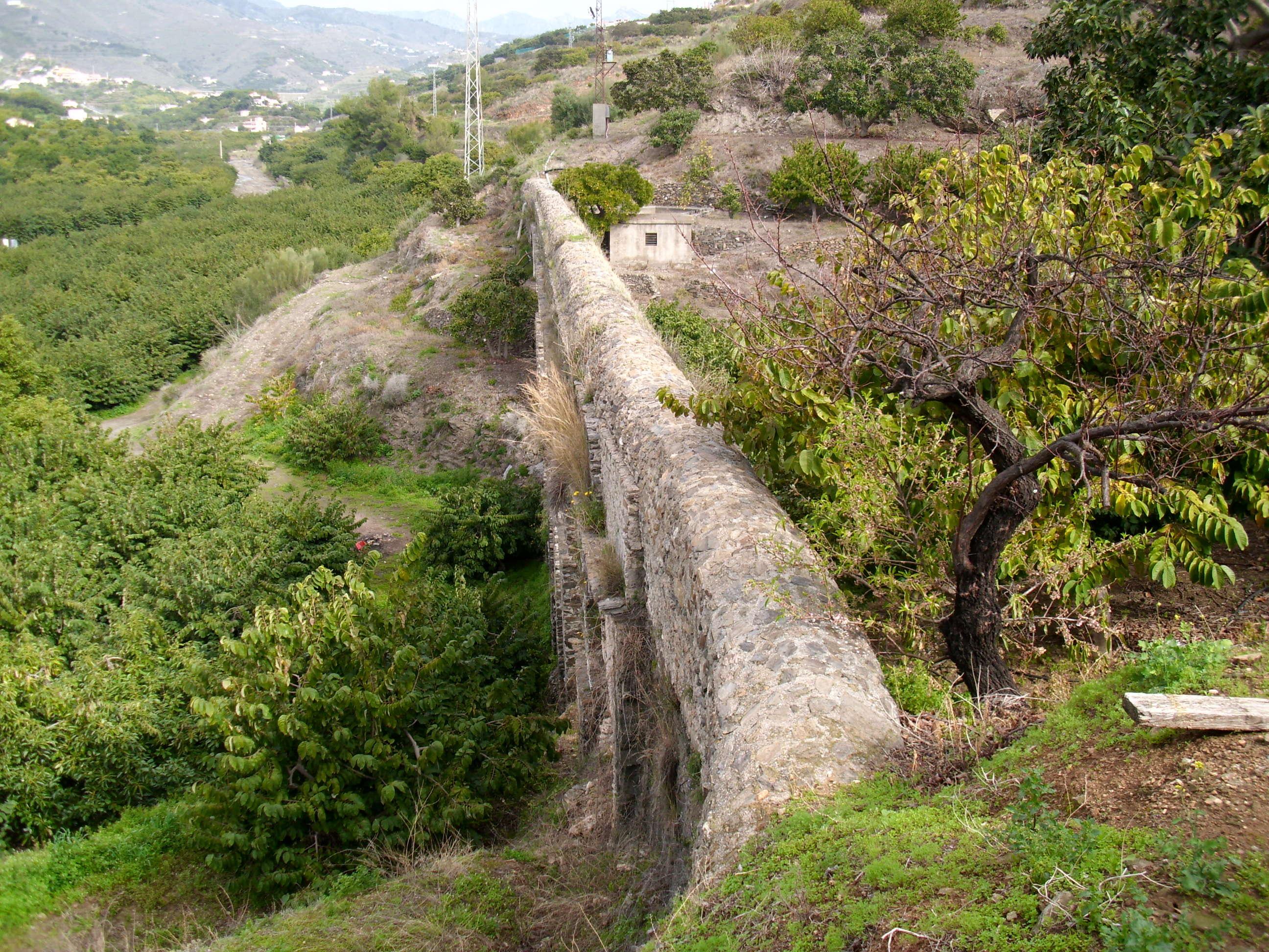 Acueducto romano de Almuñécar 2014-033