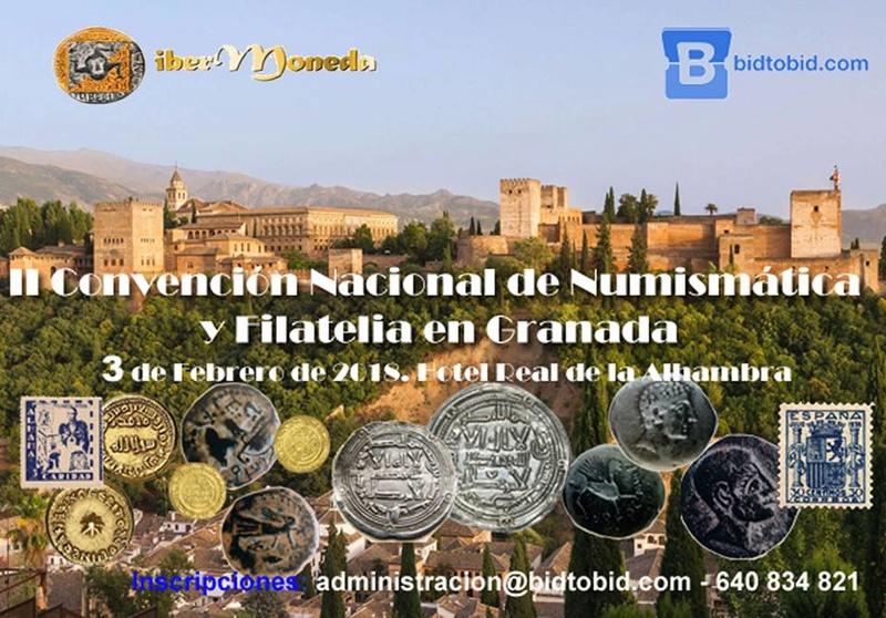 II Convención Nacional de Numismática y Filatelia en Granada 25158210