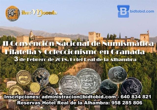 Granada será el próximo sábado epicentro nacional de la numismática, la filatelia y el col Fotono10