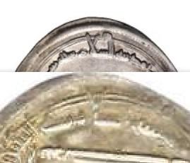 Dírham abasí, 192 H, Harun al-Rashid, Medinat al-Salam Medi10