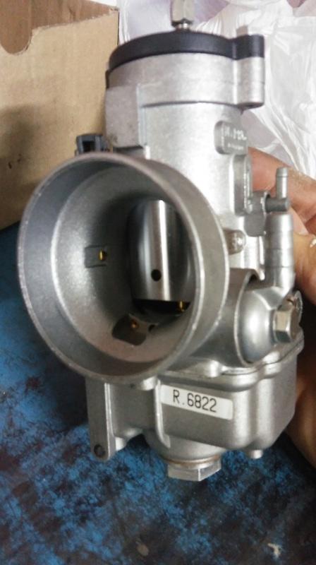 Venta carburador nuevo dellorto 38 con caja de chicles. 20171011