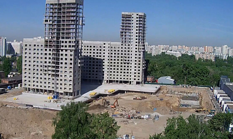 """Веб-камеры на площадке строительства ЖК """"Нормандия"""" - Страница 3 1410"""