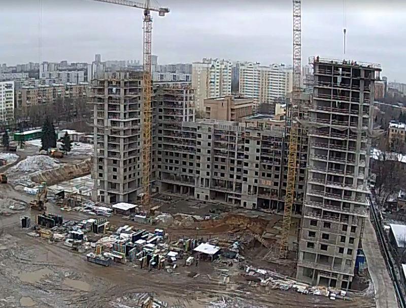 """Веб-камеры на площадке строительства ЖК """"Нормандия"""" 2210"""