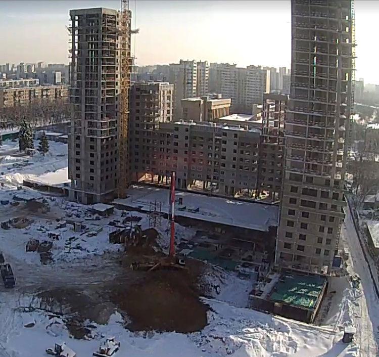 """Веб-камеры на площадке строительства ЖК """"Нормандия"""" - Страница 2 233310"""