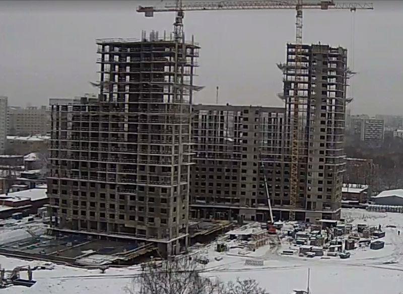"""Веб-камеры на площадке строительства ЖК """"Нормандия"""" - Страница 2 44444410"""