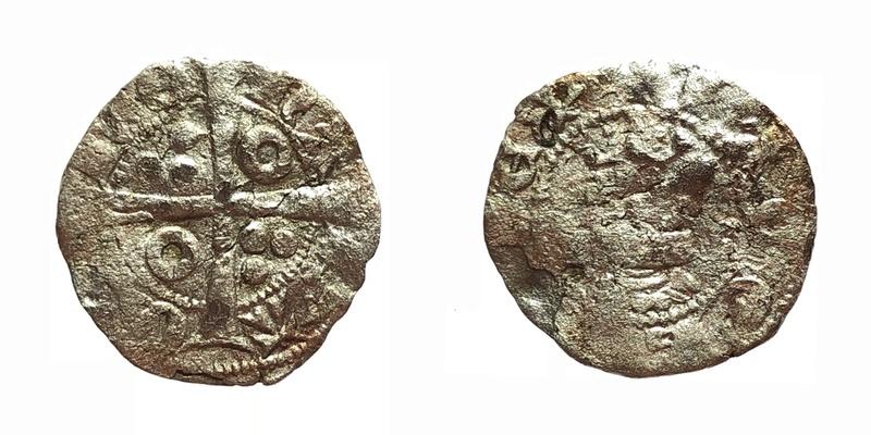 Dinero de Jaime II. Barcelona 498dc510
