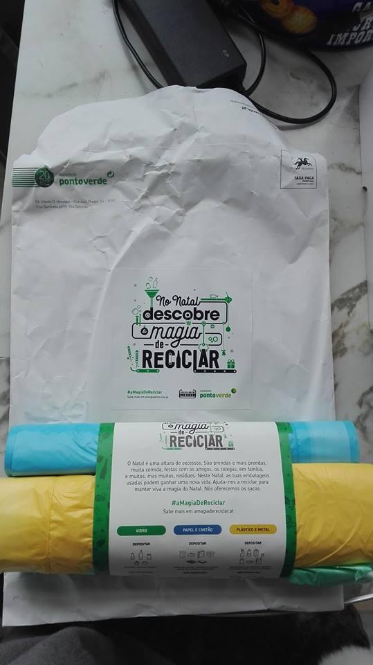 Amostras A magia de reclicar -  Sacos de Reciclagem - [Recebido] 25348210
