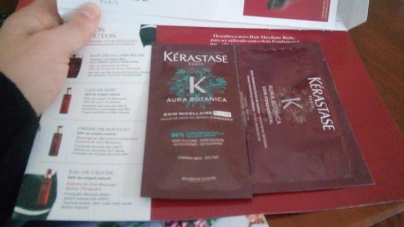 Amostras Kérastase - Aura Botanica 26814710