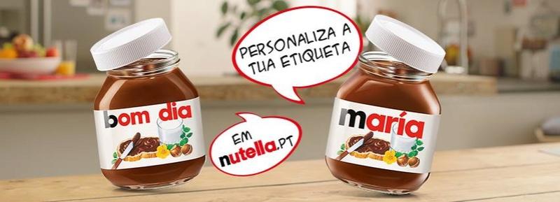 Amostras Nutella-etiquetas personalizadas 26904510