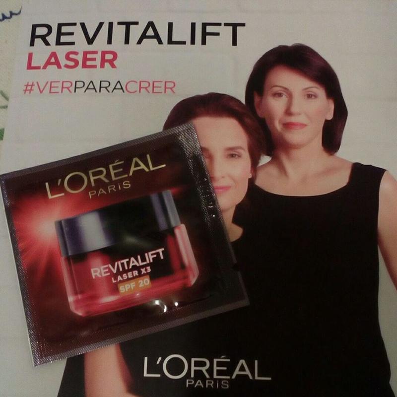 Amostras L´Oréal- creme revitalift laser X3 fps 20 32565010