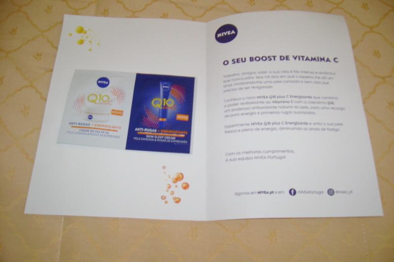 Amostras Nivea - Q10+Vitamina C Imagem39