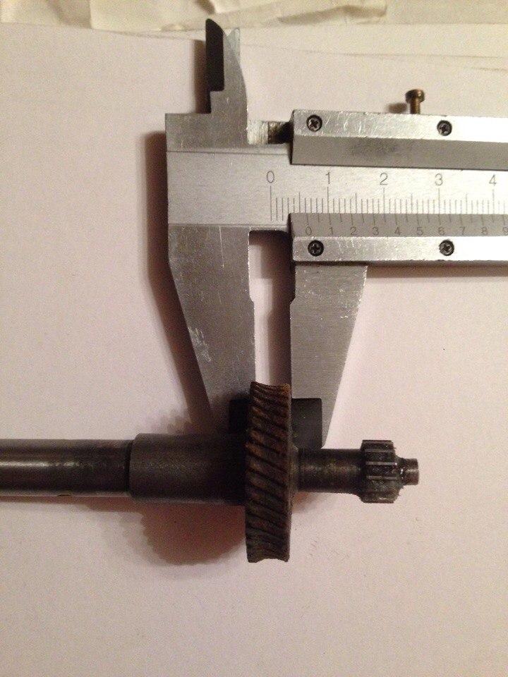 Шпиндельная шестеренка от поперечного Молотова V0az6p11