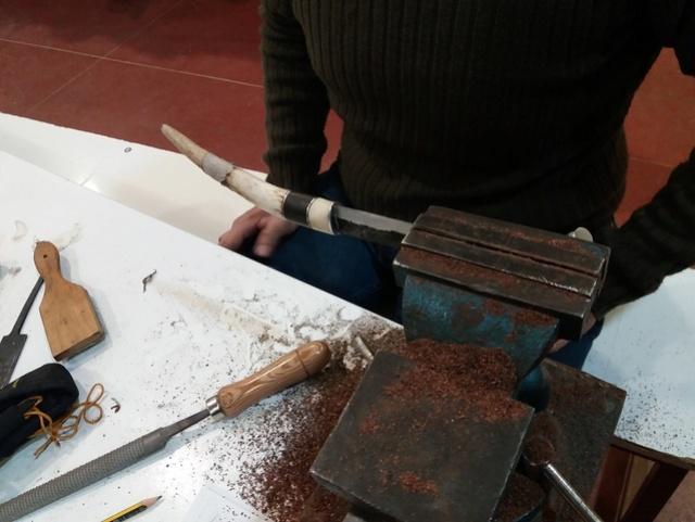 Curso de elaboración de cuchillos Nórdicos. Alfonso García-Oliva. (Iurde)  - Página 2 3410
