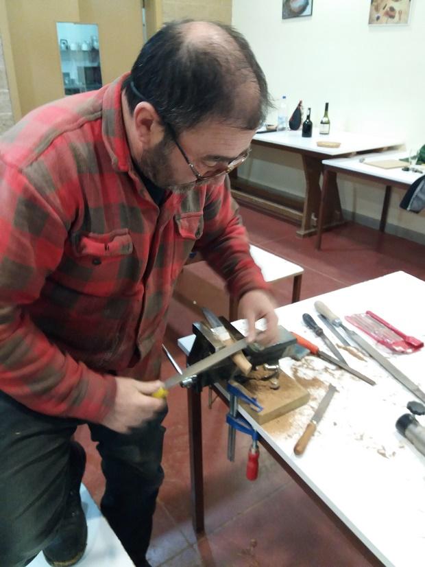 Curso de elaboración de cuchillos Nórdicos. Alfonso García-Oliva. (Iurde)  - Página 2 3610