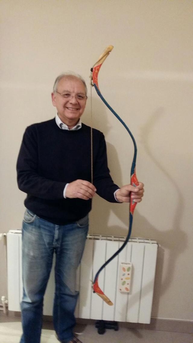 Arco turco hecho con cuerno y tendón  910