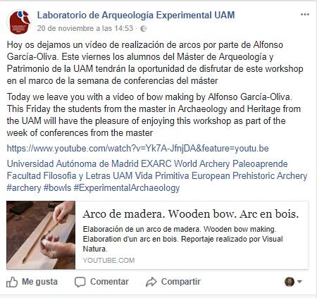 Laboratorio de Arqueología Experimental UAM Sin_ty11