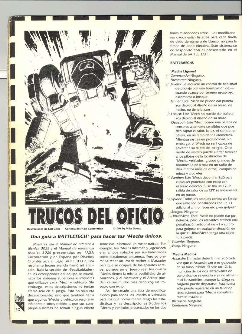 Ajustes Mechs Escane10
