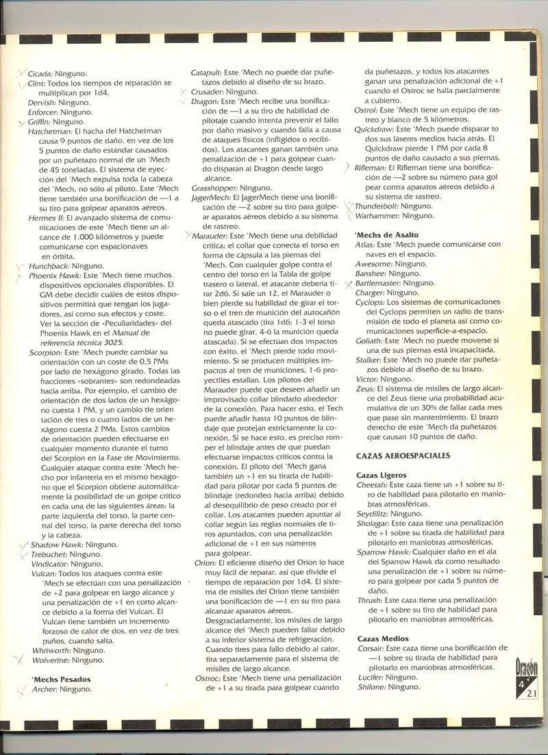 Ajustes Mechs Escane12