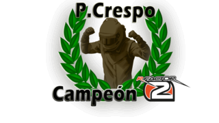 P.Crespo, campeón de F1 de la Temporada 4 de rFactor2 en CGC