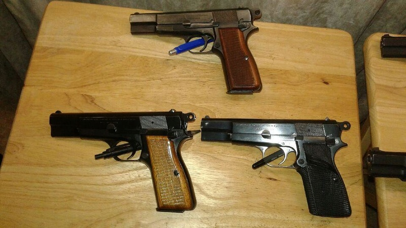 The High Power Browning G.P.35 Pistol,Inglis and F.N variants 20161011