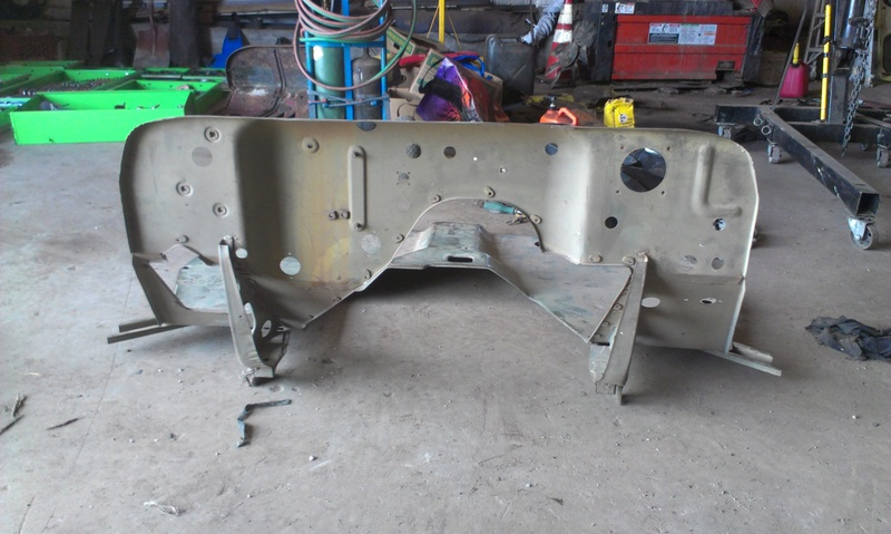 Proper Willys Jeep front floor/firewall replacement 101 Imag1014