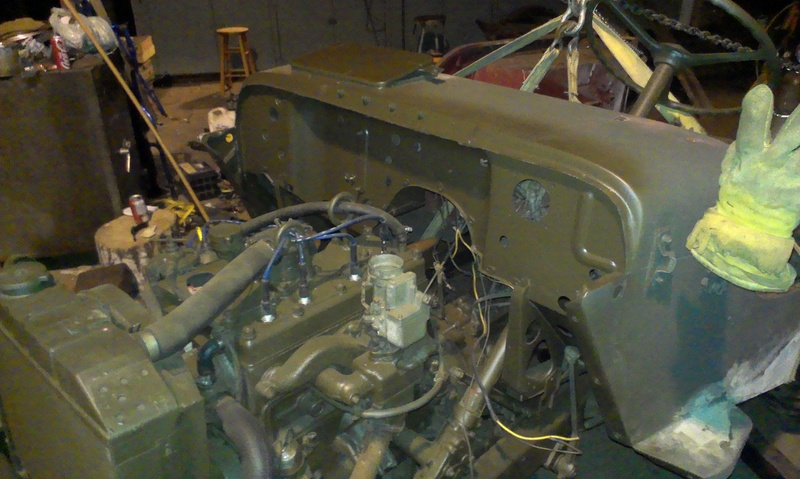 Proper Willys Jeep front floor/firewall replacement 101 Imag1018