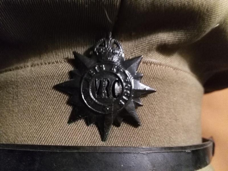 Victoria Rifles Visor Cap Img_2061