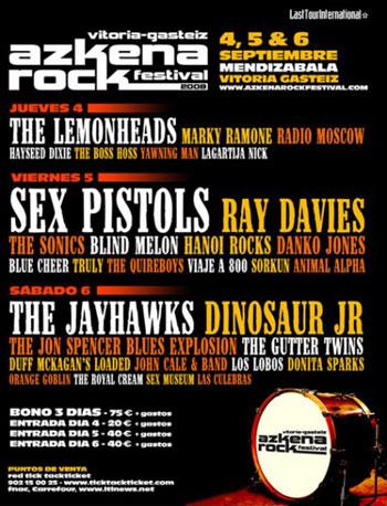Agenda de giras, conciertos y festivales 200810