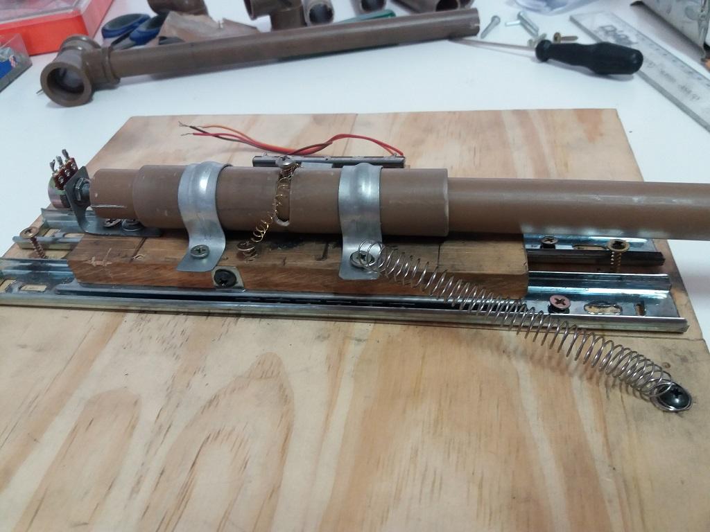 Novo projeto: Yoke, Throttle e painel de chaves. 111
