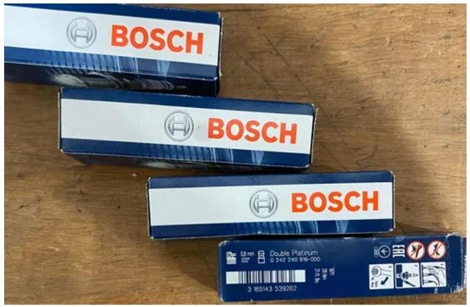 Jogo Velas Bosch Dbl Platinum Fr6mpp332 Mercedes Porsche R$300,00 Velas_10