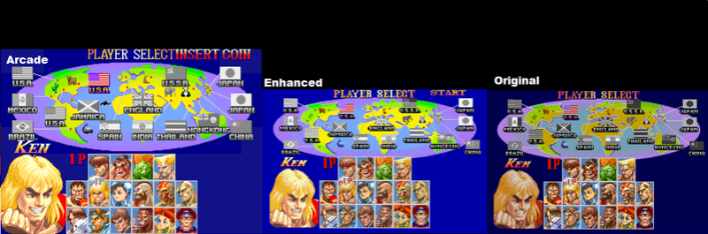 Street Fighter 2 The New Challengers MSU Hack 23lhc210