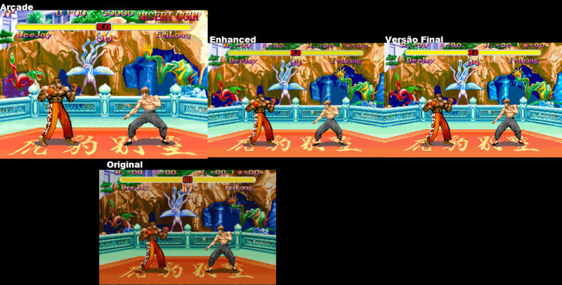 Street Fighter 2 The New Challengers MSU Hack Fkbdar10