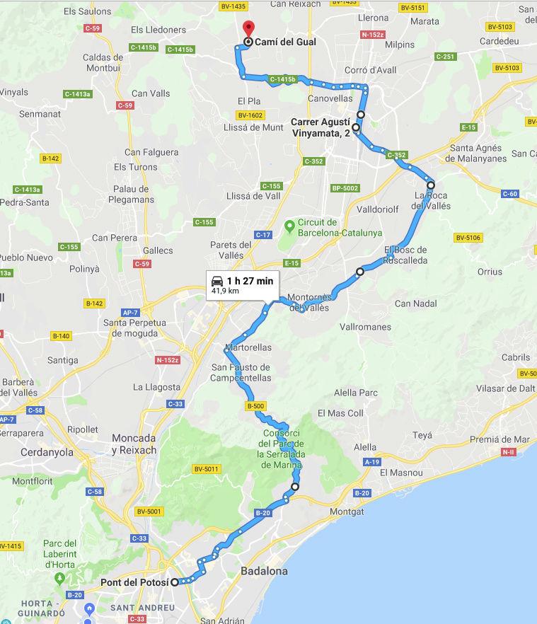 SALIDAS (CAT): Motorada en Santa Eulàlia de Ronçana 18.03.2018 Selecc12