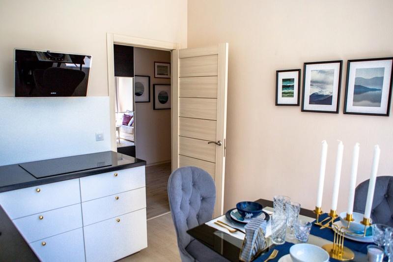 """Шоу-рум типовых квартир в ЖК """"Нормандия"""" (офис продаж на площадке) - официальные фотографии 713"""