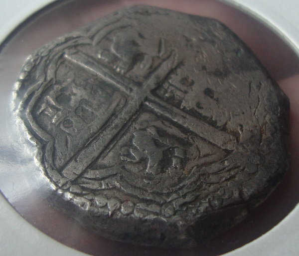 8 reales de lima 1659 , Felipe IV  Dsc05112