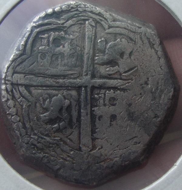8 reales de lima 1659 , Felipe IV  Dsc05113