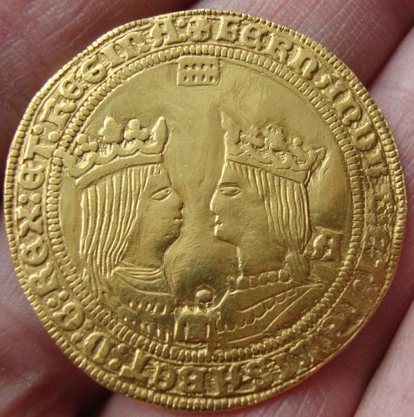 Cuádruple Excelente a nombre de los RR.CC. (1497-1520). Segovia o Casa Vieja Dsc05410