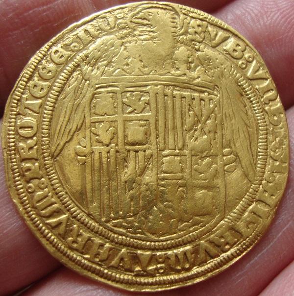 Cuádruple Excelente a nombre de los RR.CC. (1497-1520). Segovia o Casa Vieja Dsc05411