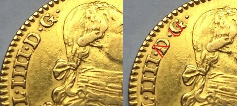 """2 escudos 1790 Carlos IIII Madrid dedit """"a los que me enseñaron todo lo que se"""" gracias  Img_8210"""