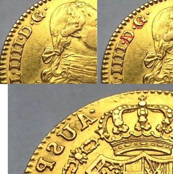 """2 escudos 1790 Carlos IIII Madrid dedit """"a los que me enseñaron todo lo que se"""" gracias  Img_8212"""