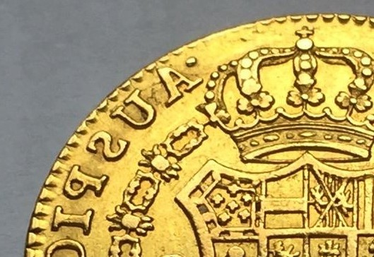 """2 escudos 1790 Carlos IIII Madrid dedit """"a los que me enseñaron todo lo que se"""" gracias  Img_8213"""