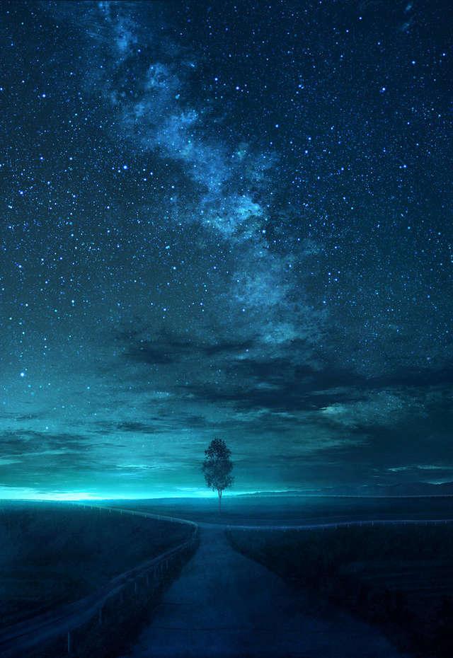 Звёздное небо и космос в картинках - Страница 3 15249210