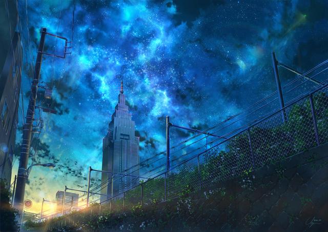 Звёздное небо и космос в картинках - Страница 5 15258810