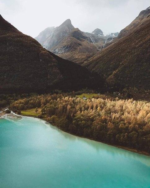Роскошные пейзажи Норвегии - Страница 5 Dr9-bl10