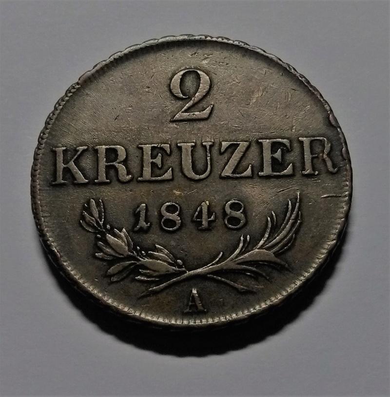 AUSTRIA: Revolución de 1848 - 2 Kreuzer Img_2082