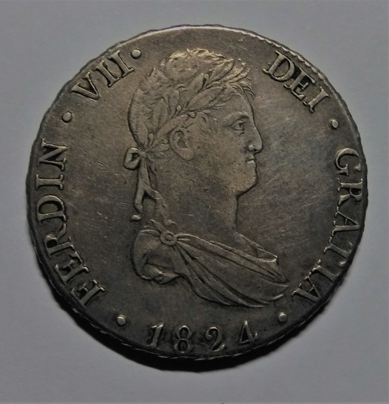 8 reales 1824. Fernando VII. Madrid Img_2111