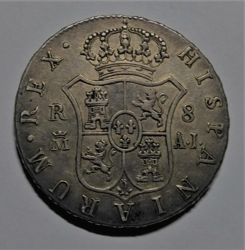 8 reales 1824. Fernando VII. Madrid Img_2112