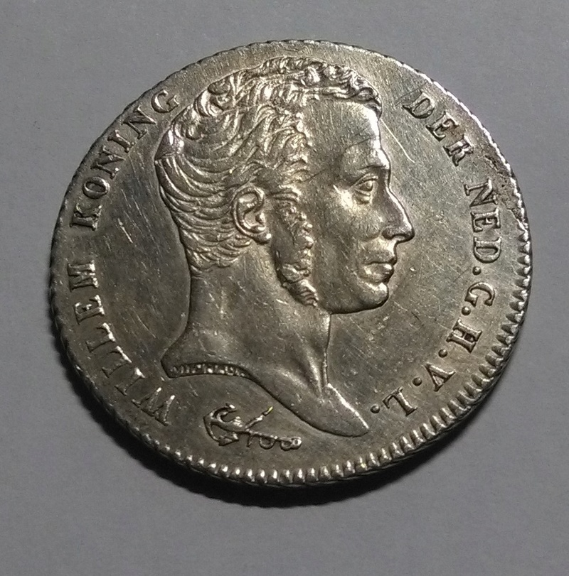 INDIAS HOLANDESAS: 1 Gulden, 1840 ´- Guillermo I Img_2114