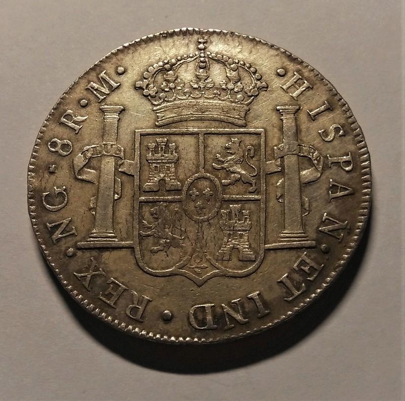 8 Reales 1810. Fernando VII. Guatemala (Busto Carlos IV) Img_2125